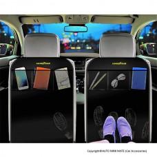 GOODYEAR Waterproof Car Seat Protector (Pack of 2)
