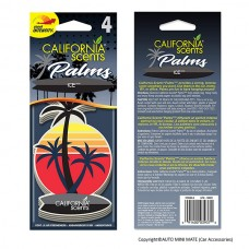 California Scents Hanging Palms Air Freshener, Ice (4 Count)