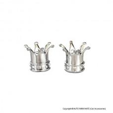 Crown Air Caps (Chrome)