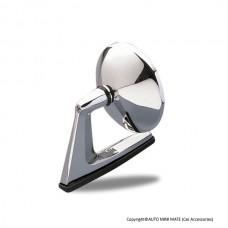 60's Style Round Mirror