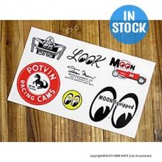 7 Design Sticker Sheet