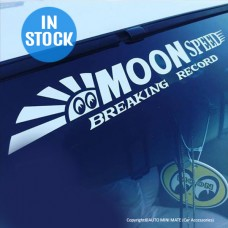 MOON Speed Logo Decal